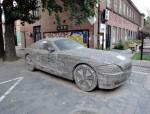 سيارة BMW مصنوعة من الحجر