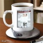 فنجان مع شاشة - ديجيتال