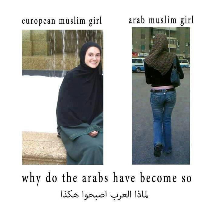 لماذا أصبحت نساء العرب هكذا