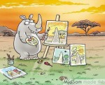 العالم من وجهة نظر وحيد القرن