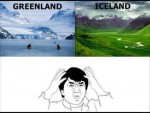 Ice land & Green land