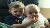 فيديو أطفال مضحك